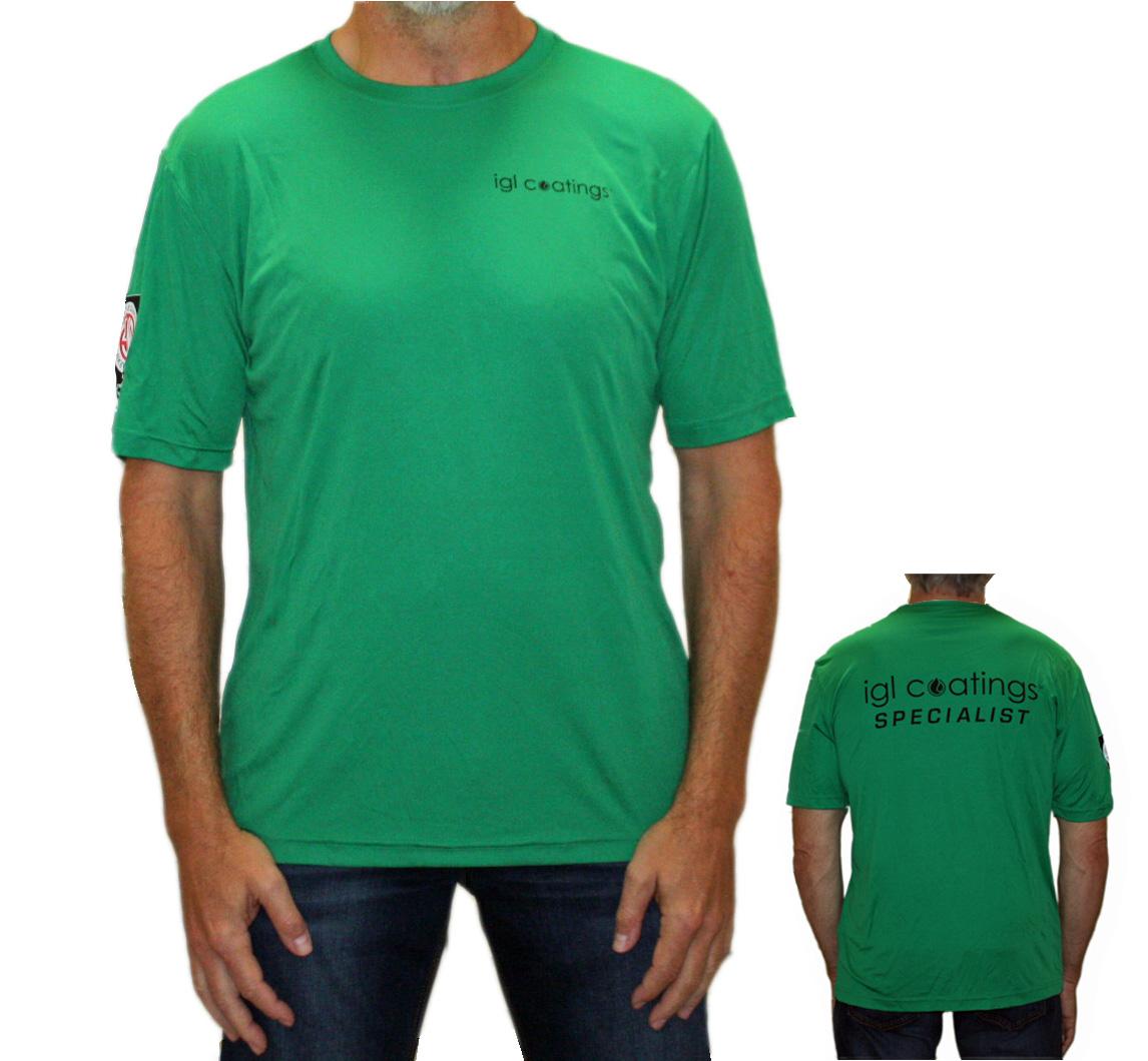 green t shirt igl coatings canada
